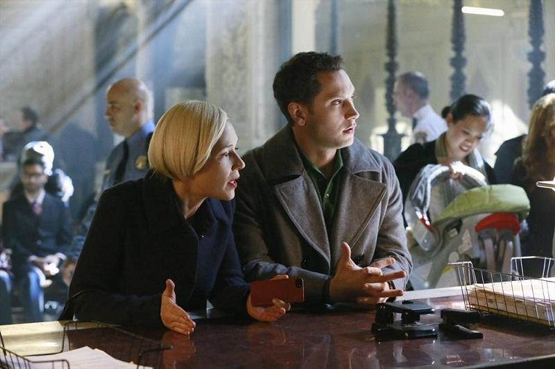 How To Get Away With Murder: Liza Weil e Matt McGorry nella puntata intitolata Hello, Raskolnikov