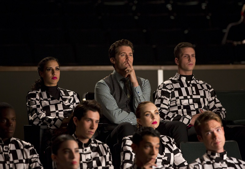 Glee: Matthew Morrison in una scena di The Hurt Locker, Part 2