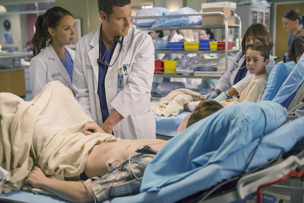Grey's Anatomy: Camilla Luddington e Justin Chambers in Where Do We Go From Here?