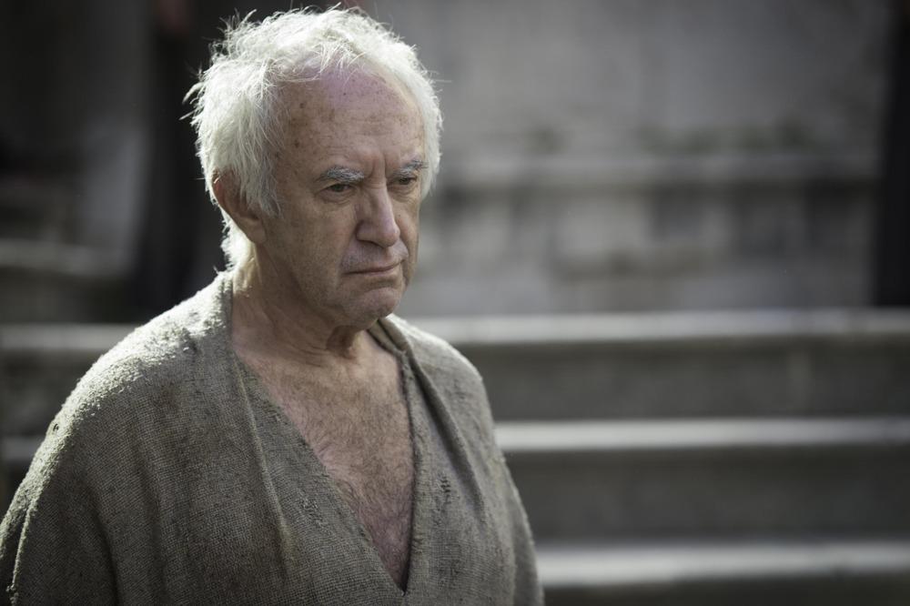 Il trono di spade: Jonathan Pryce in una scena della quinta stagione
