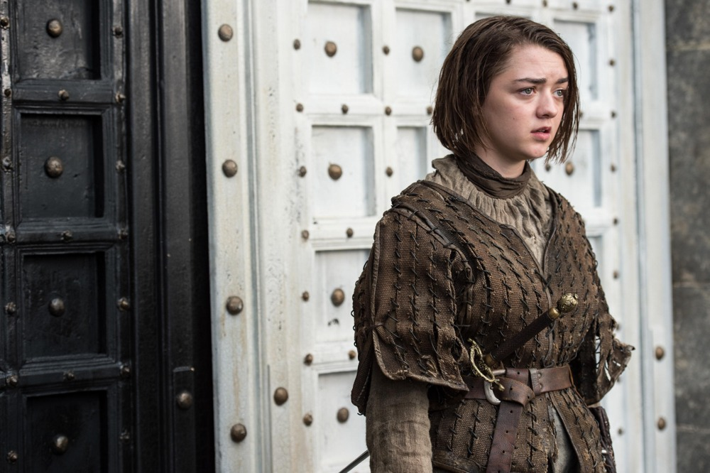 Il trono di spade: l'attrice Maisie Williams interpreta Arya Stark