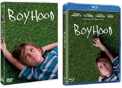 Le cover homevideo di Boyhood