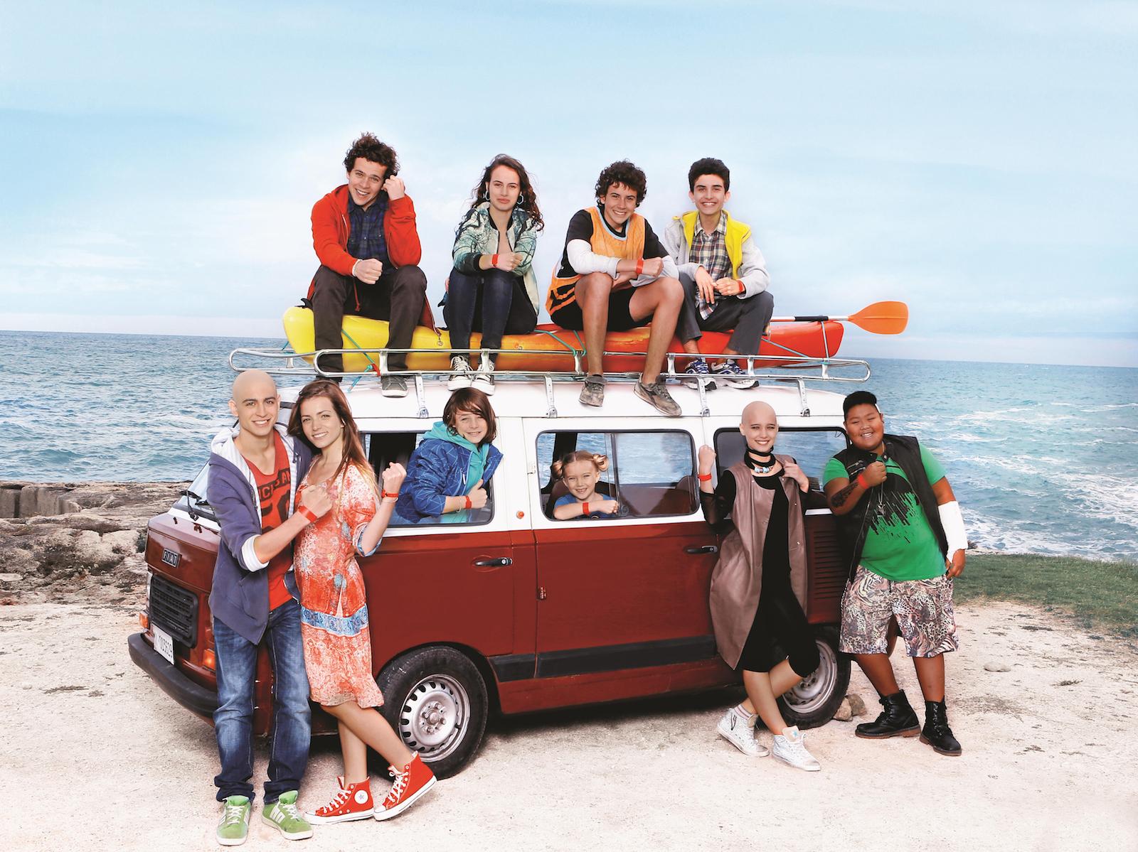 Braccialetti rossi 2: il cast in una foto promozionale