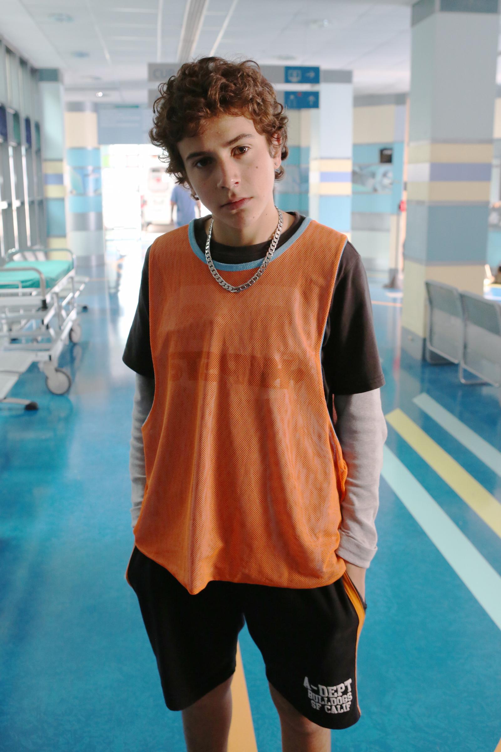 Braccialetti rossi 2: Mirko Trovato in una immagine promozionale