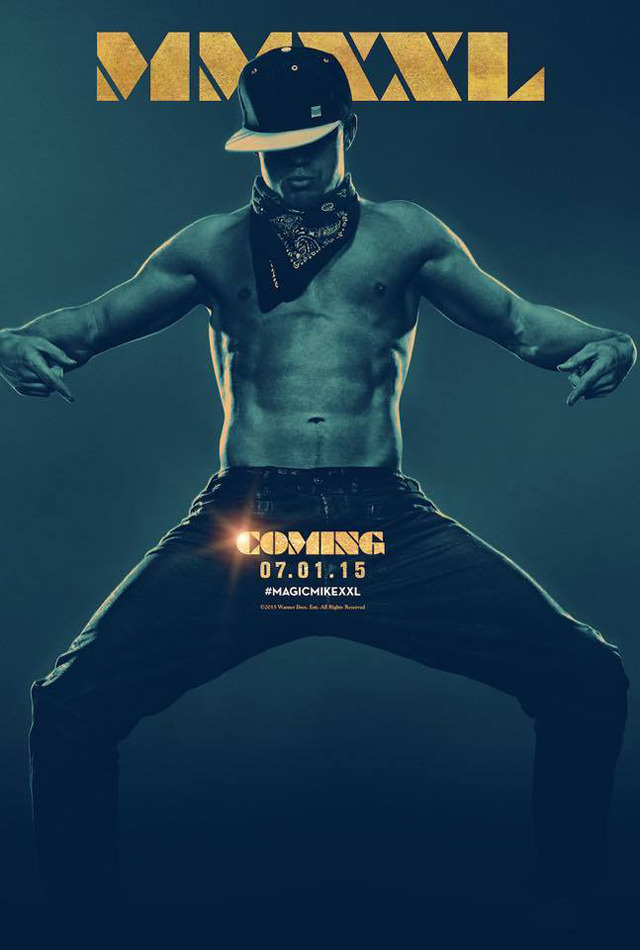 Magic Mike XXL: il poster del film con protagonista Channing Tatum