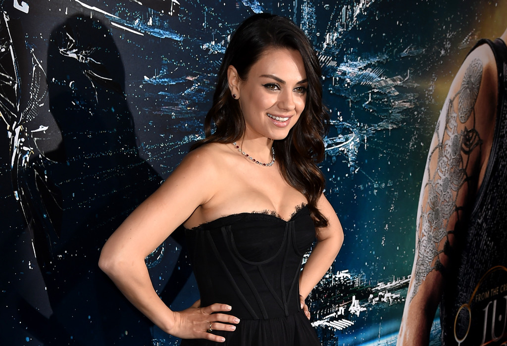 Jupiter Ascending - Mila Kunis alla premiere del film