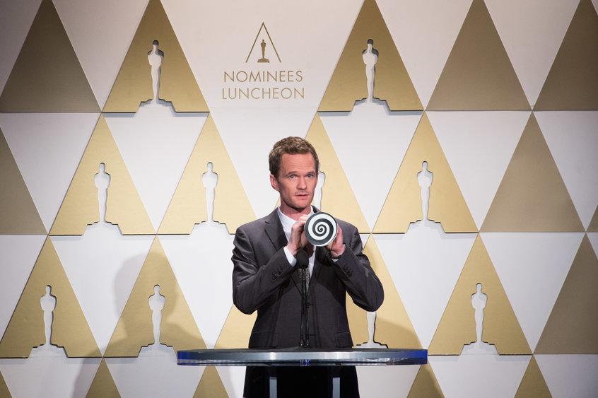 Oscar 2015 - Neil Patrick Harris al 'nominee luncheon' ipnotizza tutti al Nominee Luncheon