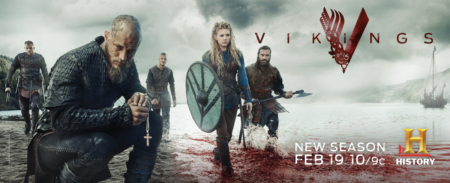 Vikings: un wallpaper per la terza stagione