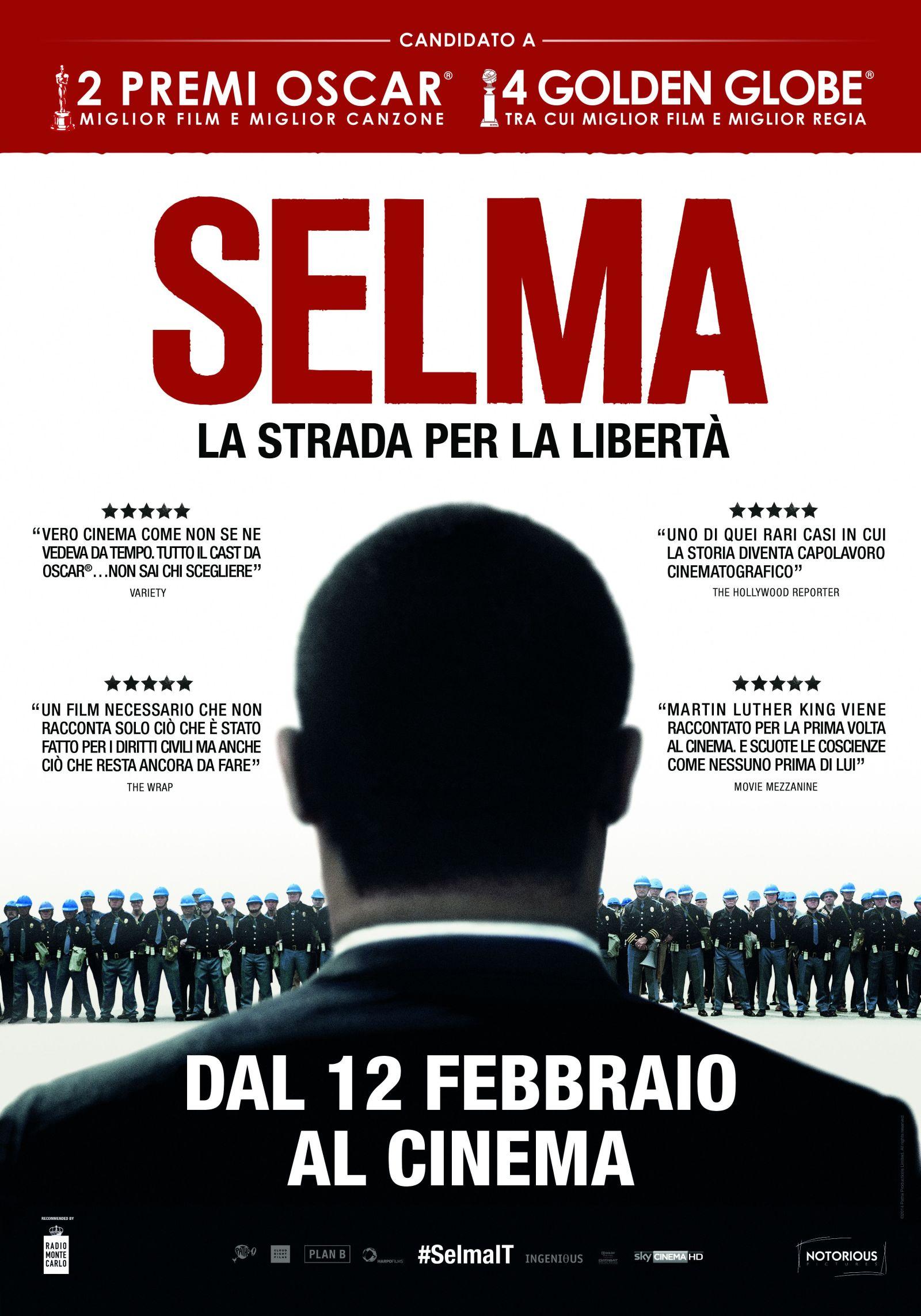 Locandina italiana di Selma - La Strada della Libertà