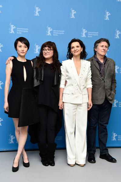 Nobody Wants the Night: Rinko KiKuchi, Juliette Binoche, Gabriel Byrne e la regista Isabel Coixet a Berlino