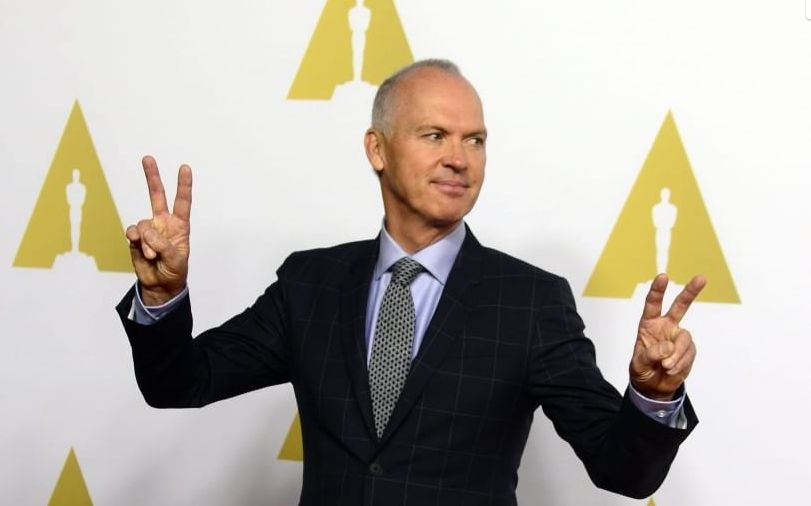 Michael Keaton all'Academy Awards Luncheon 2015