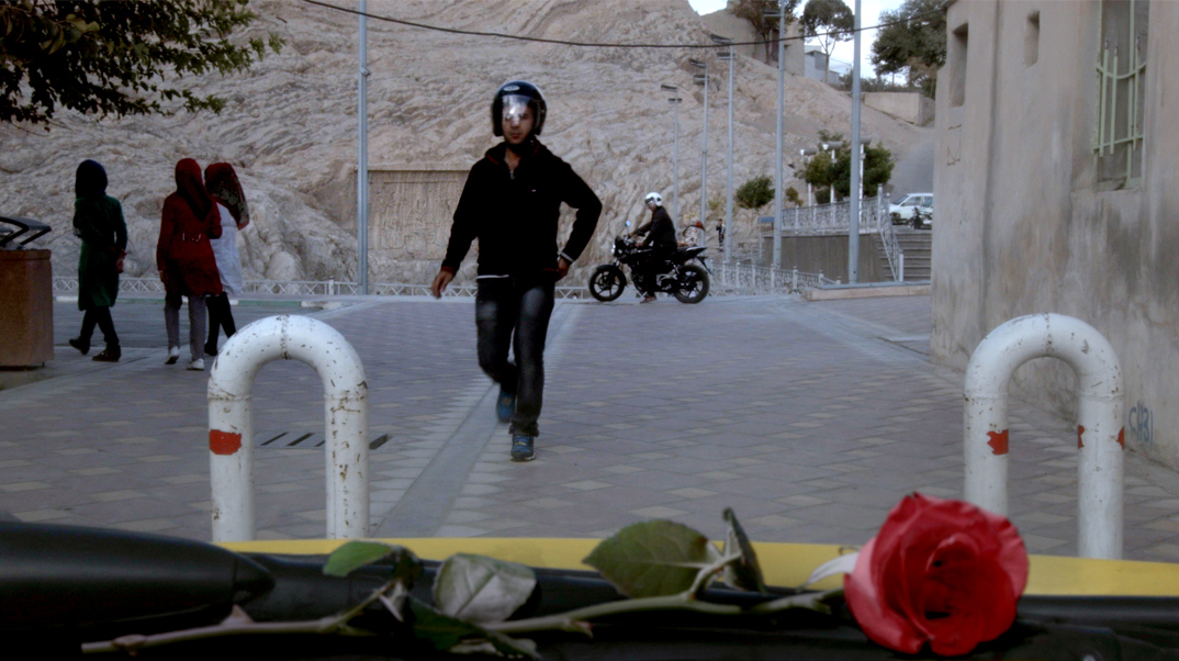 Taxi Teheran: una scena del film