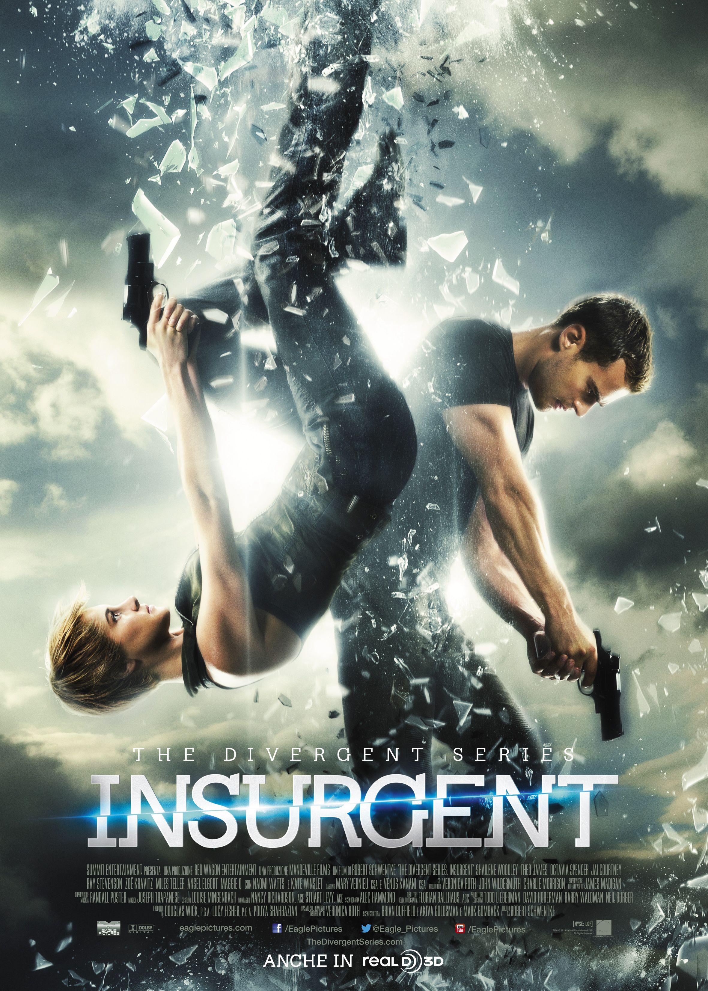 Locandina di The Divergent Series: Insurgent