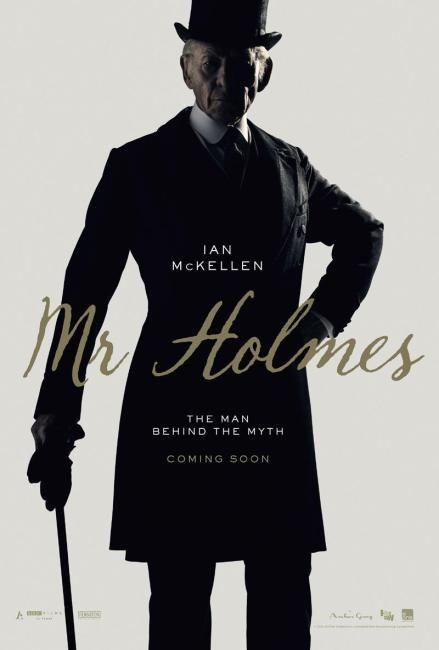 Locandina originale di Mr. Holmes - Il mistero del caso irrisolto