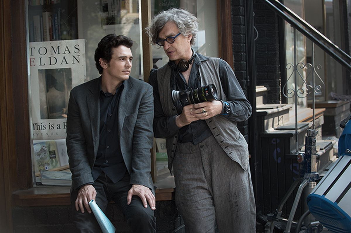 Wim Wenders - Ritorno alla vita: Wim Wenders insieme a James Franco sul set del film