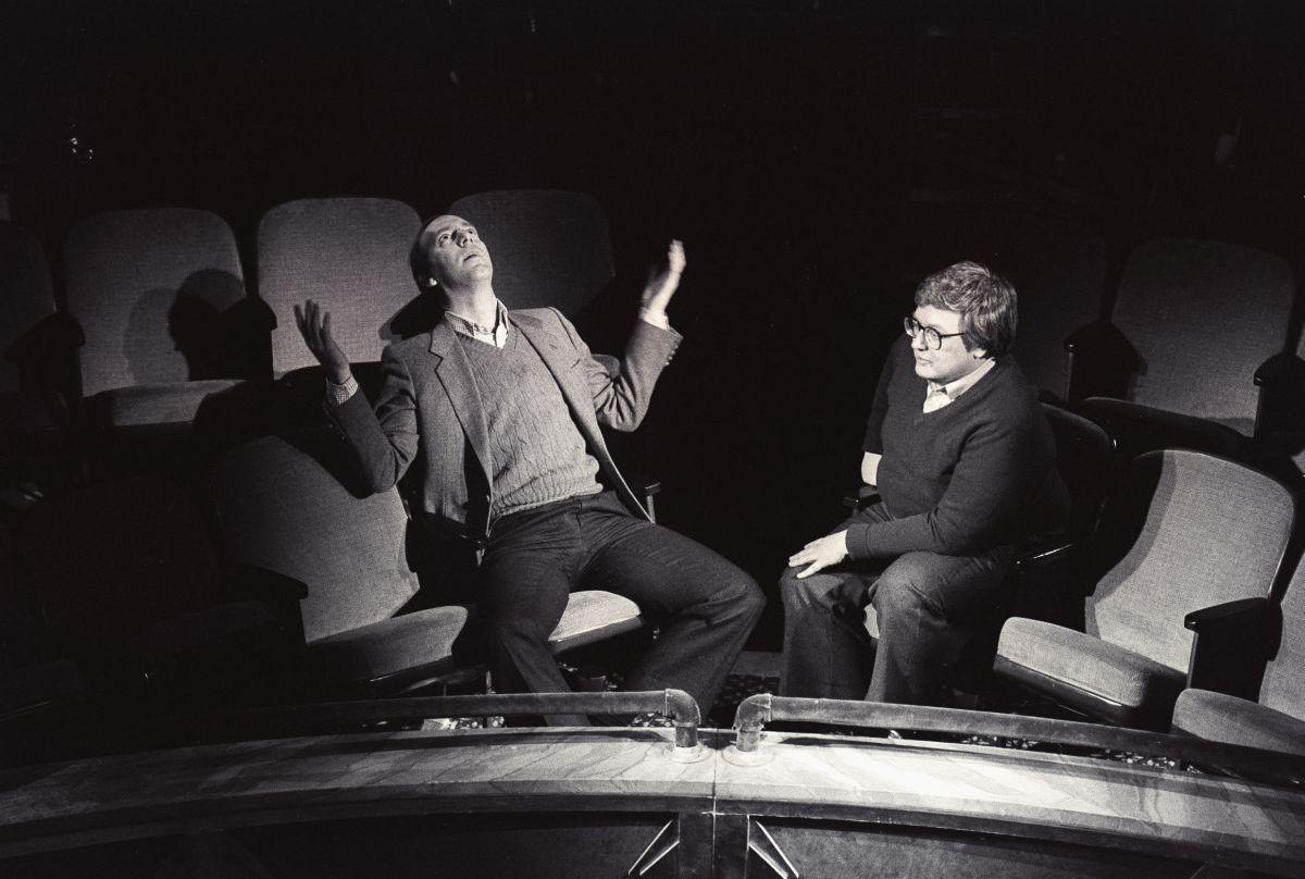 Life Itself: Roger Ebert con l'amico Gene Siskel in una scena del documentario
