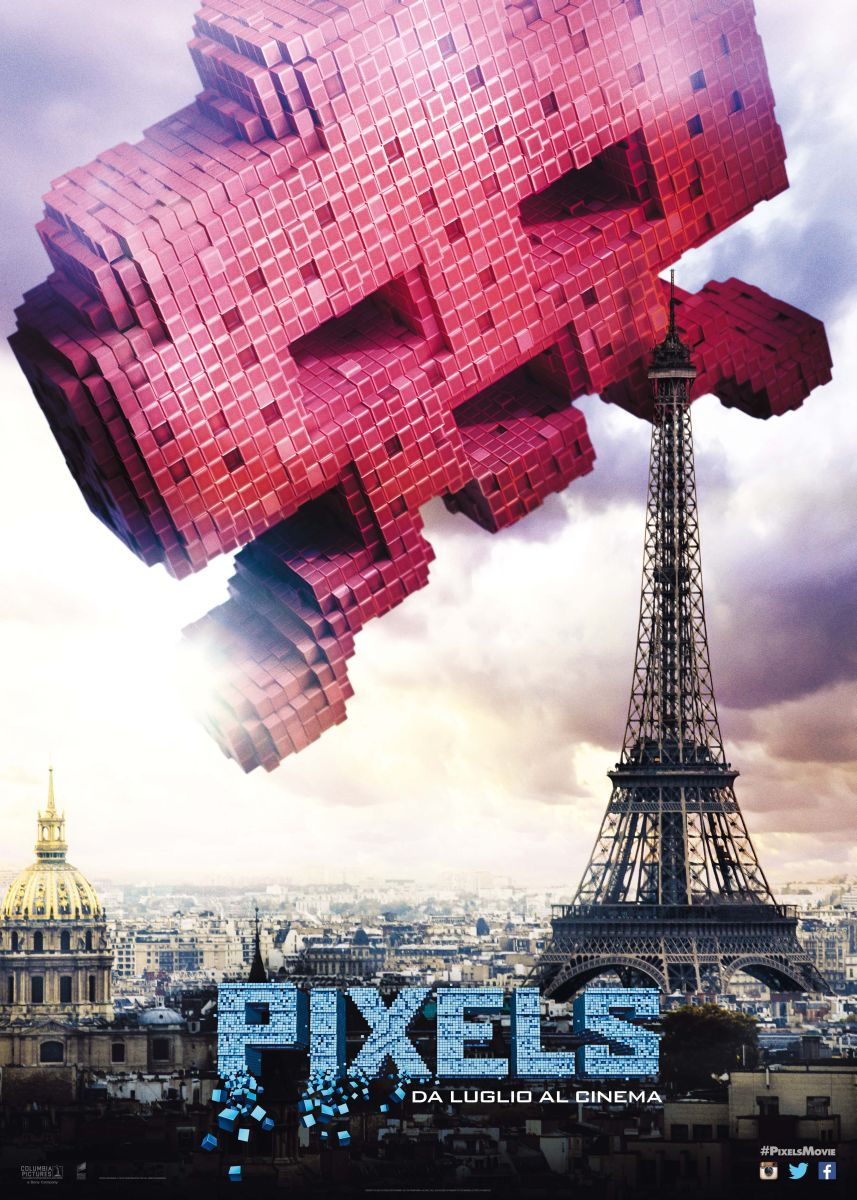 Pixels: il character posteritaliano di Space Invaders
