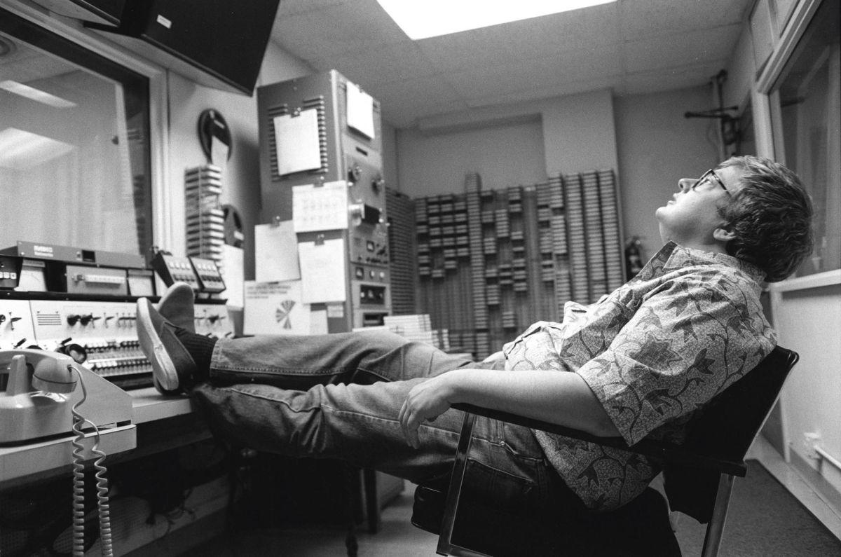 Life Itself: il giornalista e critico cinematografico Roger Ebert in una scena del documentario a lui dedicato