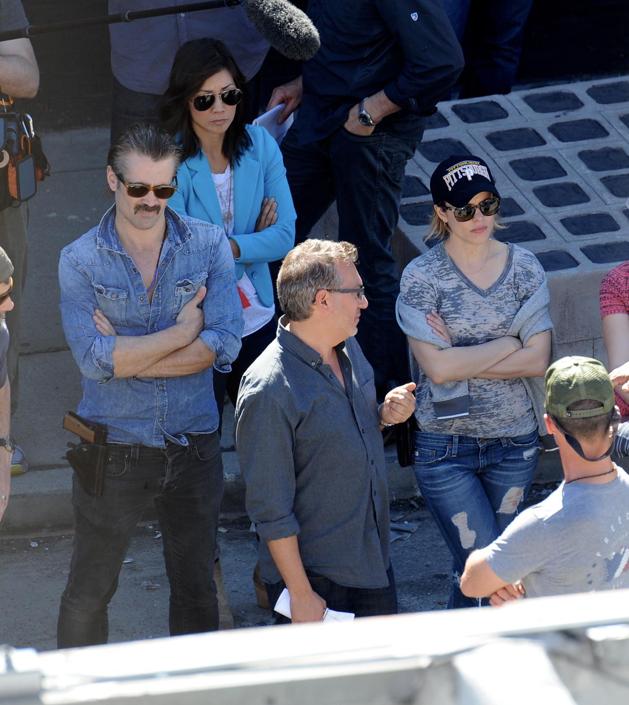 True Detective 2: Colin Farrell e Rachel McAdams attendono il via alle riprese