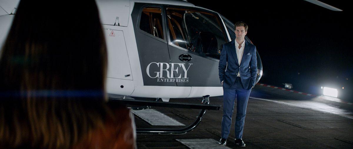 Cinquanta sfumature di grigio: Jamie Dornan in un'immagine del film