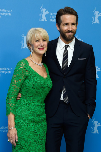 Woman in Gold: Helen Mirren e Ryan Reynolds a Berlino