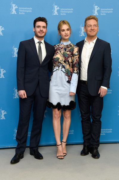 Cenerentola: il regista Kenneth Branagh, Lily James e Richard Madden