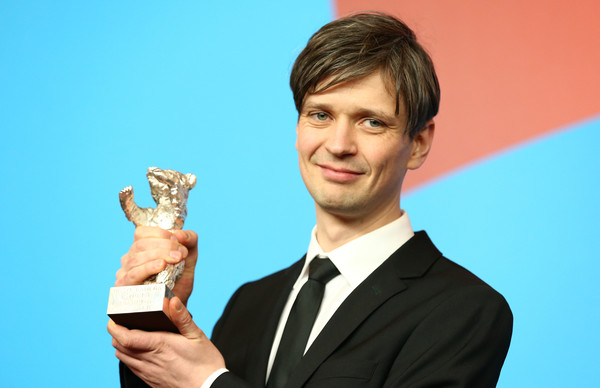 Berlino 2015: il direttore della fotografia Sturla Brandth Grøvlen con l'Orso d'argento