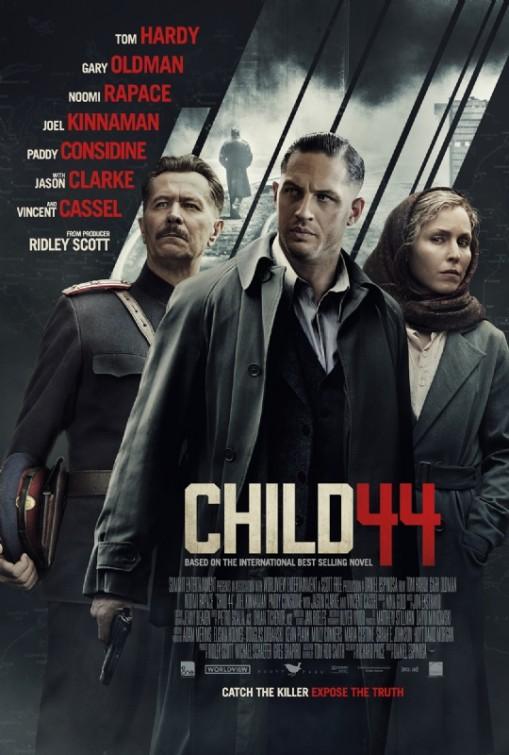 Child 44: la locandina inglese