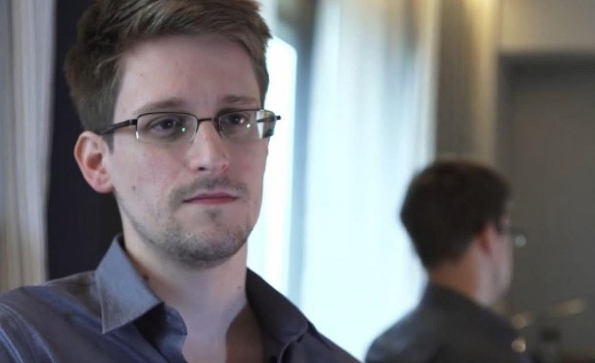Citizenfour: un'immagine di Edward Snowden