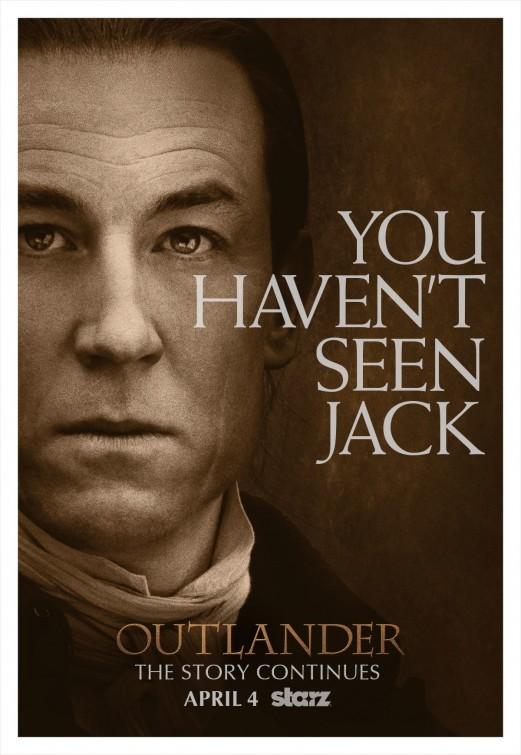 Outlander: un poster per la prima stagione della serie