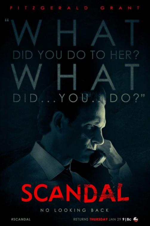 Scandal: un poster per la quarta stagione della serie