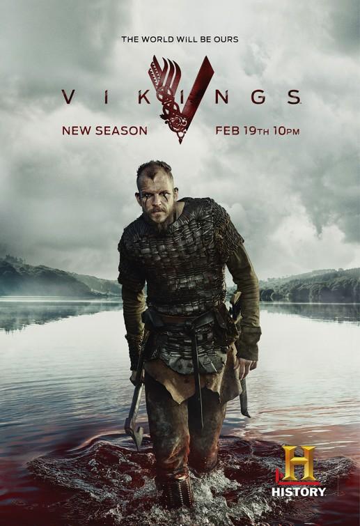 Vikings: Gustaf Skarsgård un manifesto per la terza stagione