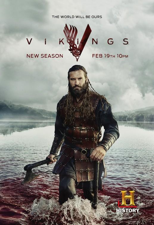 Vikings: una locandina per la terza stagione