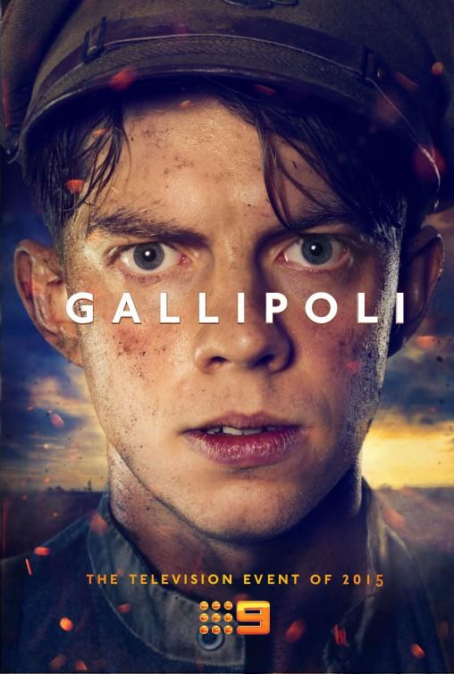 Gallipoli: un poster per la mini-serie