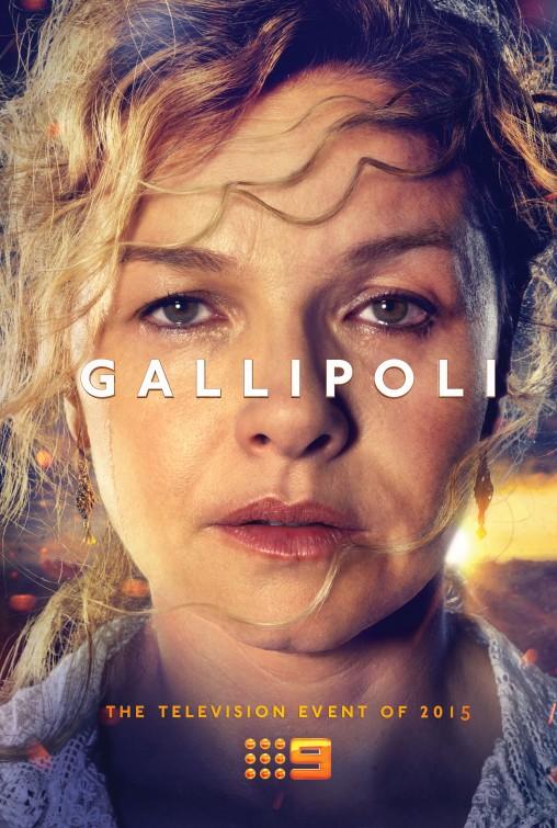 Gallipoli: una locandina per la serie australiana
