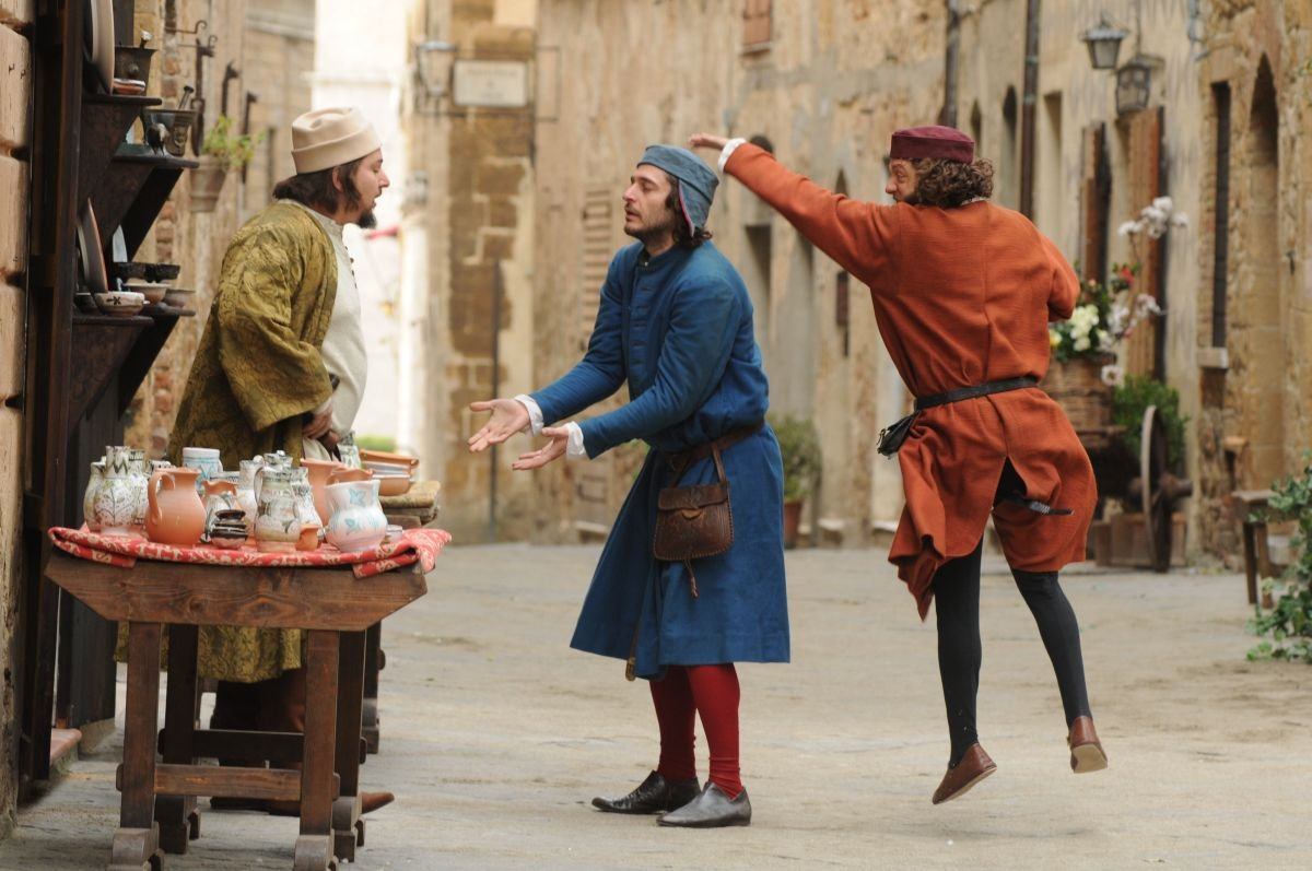 Maraviglioso Boccaccio: una scena del film