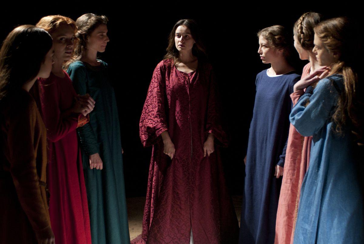 Maraviglioso Boccaccio: Kasia Smutniak nei panni di Ghismunda in una scena