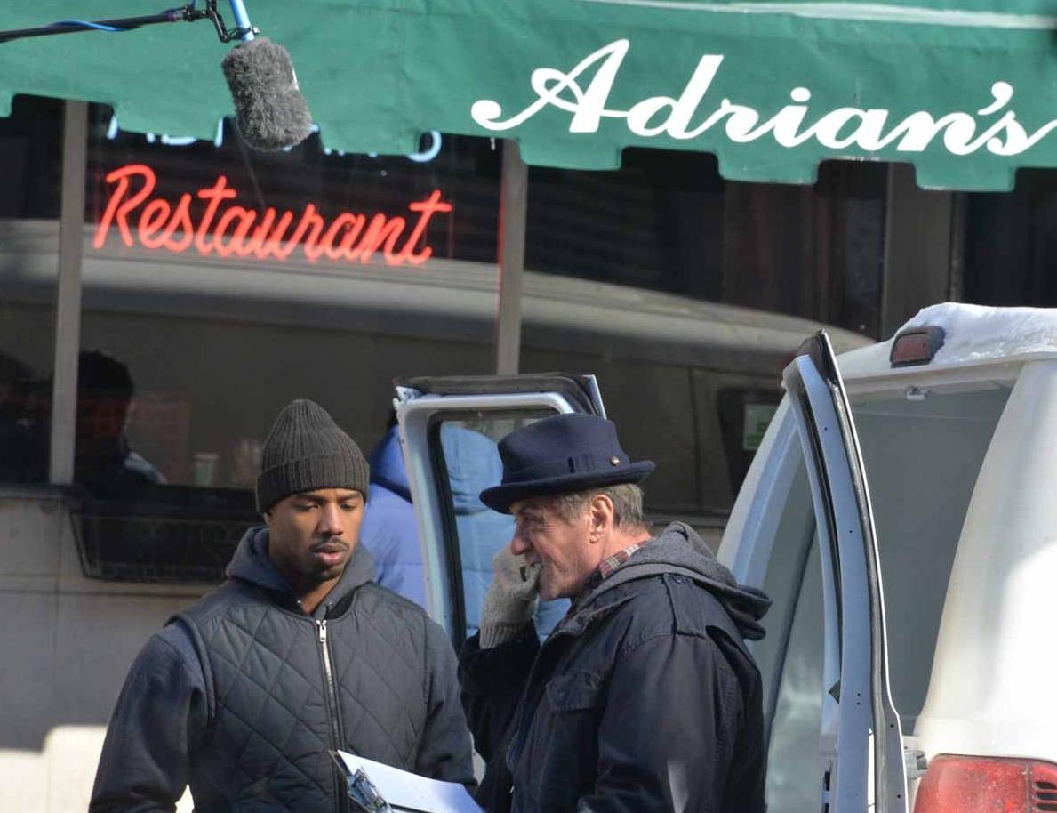 Creed: Sylvester Stallone e Michael B. Jordan si preparano a girare