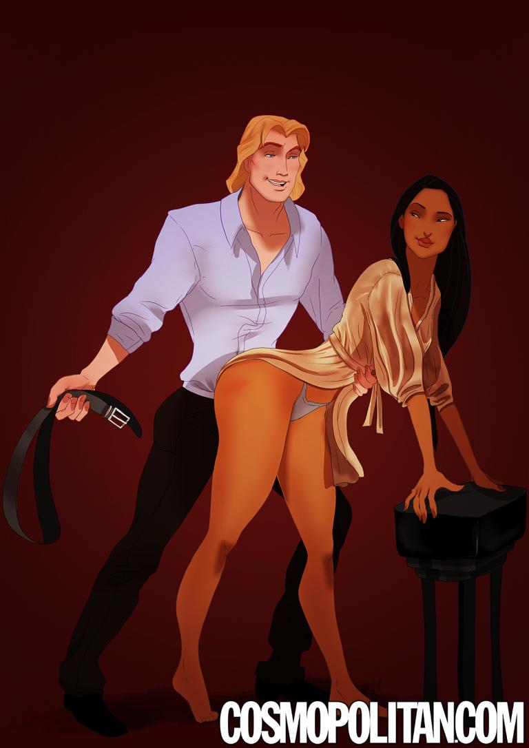 Cinquanta sfumature di grigio versione Disney: Pocahontas