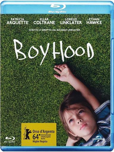 La cover del blu-ray di Boyhood