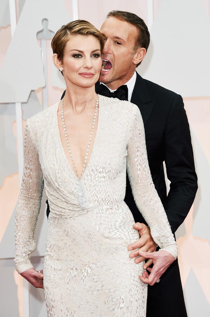 Faith Hill e Tim McGraw agli Oscar 2015