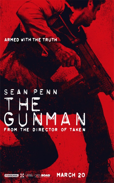 The Gunman: il character poster di Sean Penn