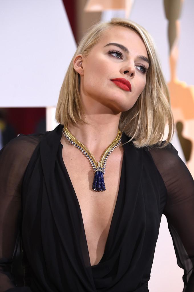 Margot Robbie agli Oscar 2015
