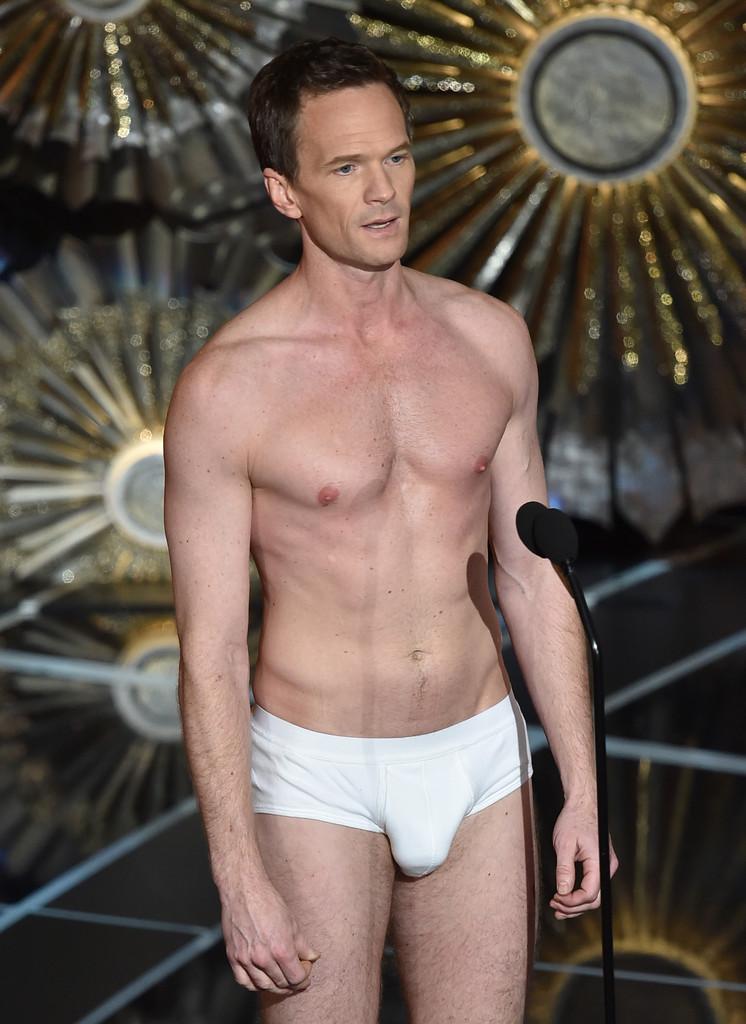 Neil Patrick Harris in slip agli Oscar 2015