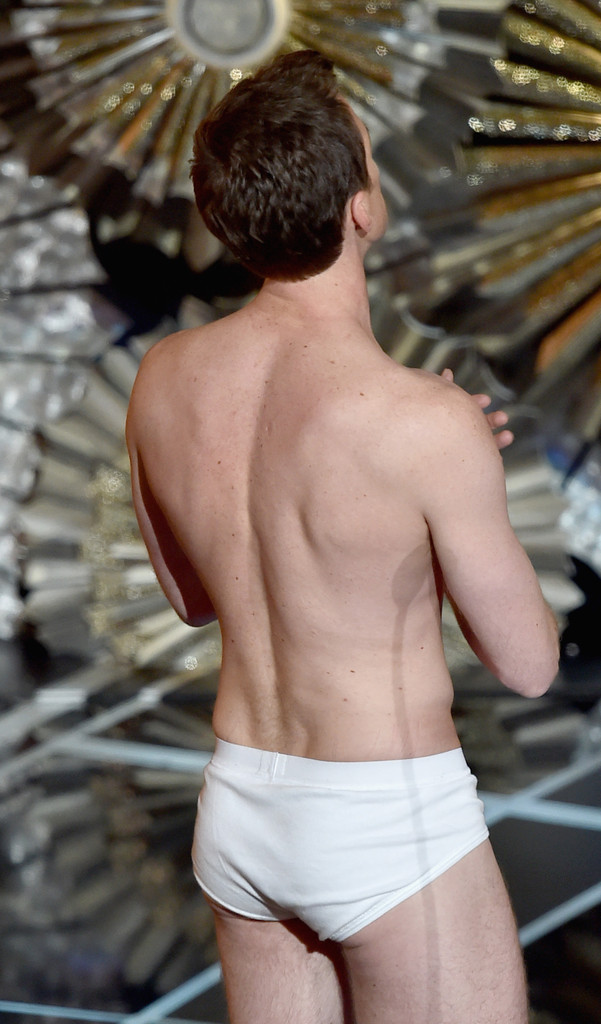 Neil Patrick Harris in mutande agli Oscar 2015