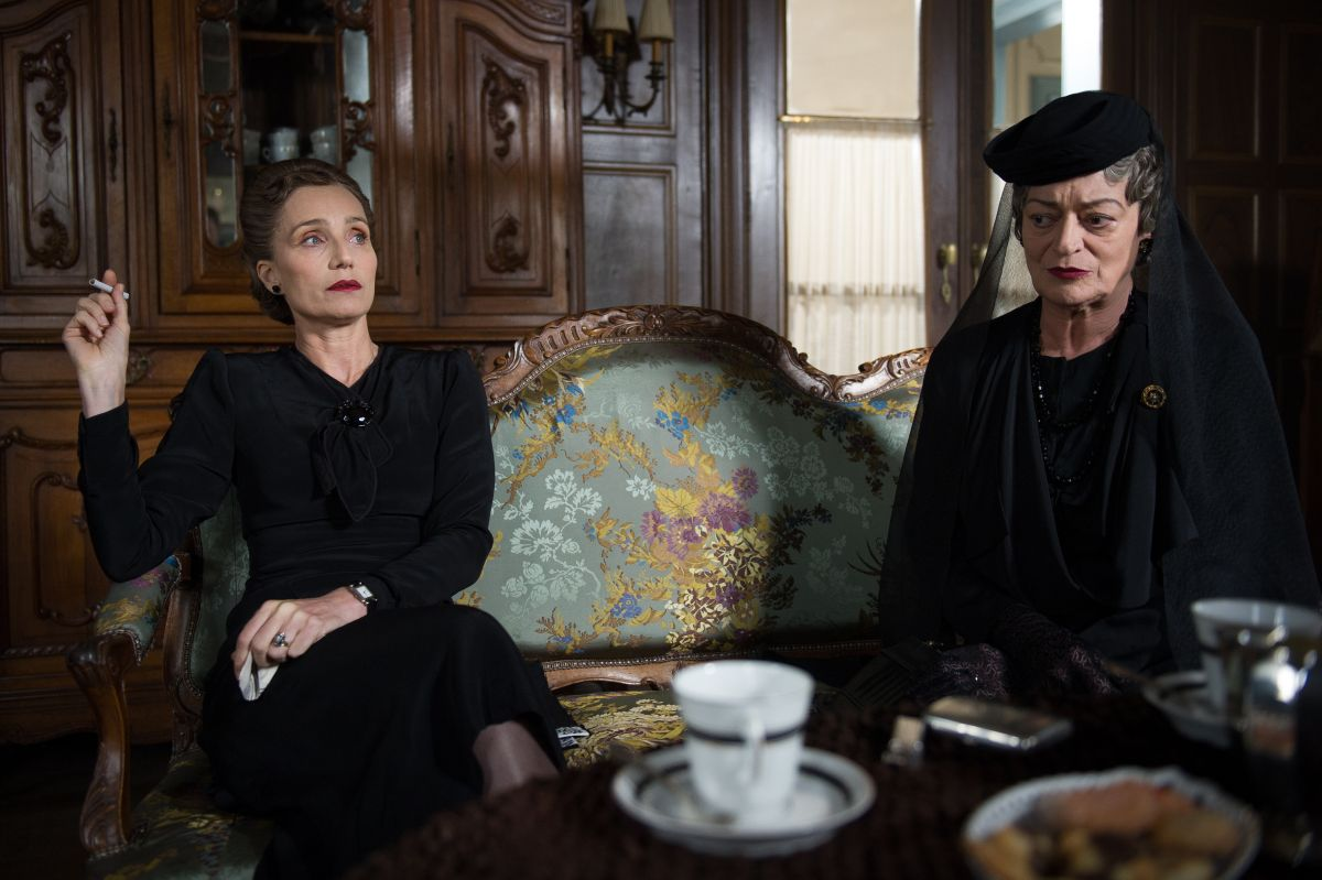 Suite Francese: Kristin Scott Thomas in una scena del film drammatico