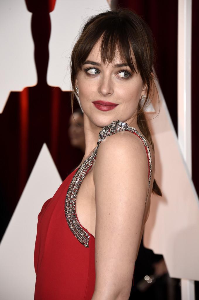 Dakota Johnson agli Academy Awards 2015