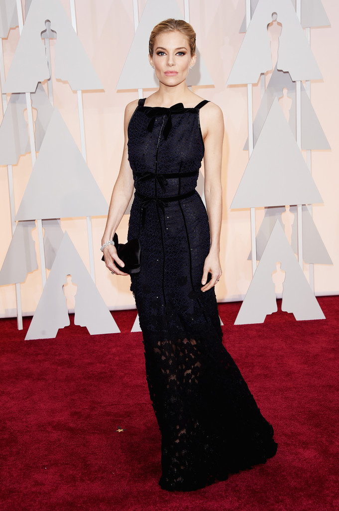 Sienna Miller agli Oscar 2015