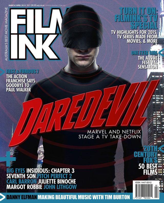 Daredevil: Charlie Cox sulla copertina di Ink