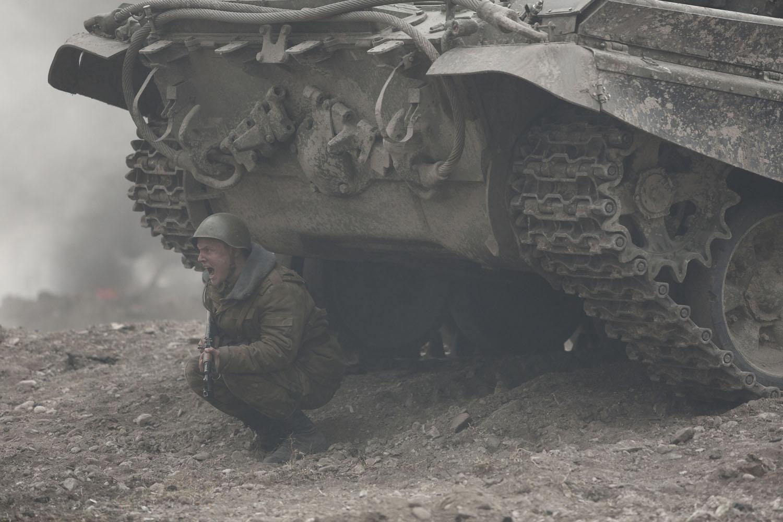 The Search: Maksim Emelyanov in una drammatica scena del film